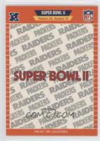 Super Bowl II - Green Bay Packers, Oakland Raiders