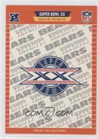 Super Bowl XX - Chicago Bears, New England Patriots