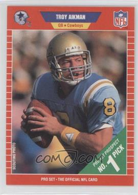 1989 Pro Set #490 - Troy Aikman