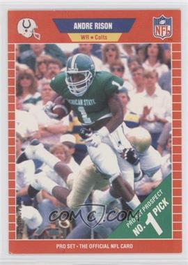 1989 Pro Set #497 - Andre Rison