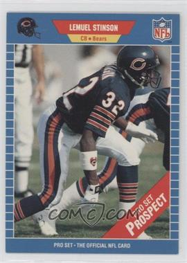 1989 Pro Set #542 - Lemuel Stinson