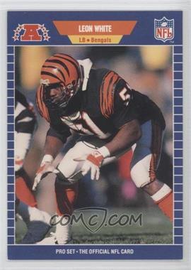 1989 Pro Set #69 - Leon White