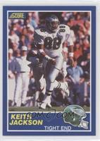 Keith Jackson (Error: 84-TE on Back)