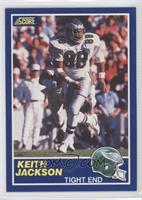 Keith Jackson (Correct: 88-TE on Back)