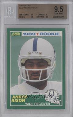 1989 Score #272 - Andre Rison [BGS9.5]