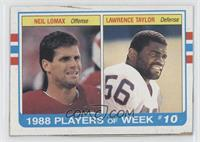 Neil Lomax, Lawrence Taylor
