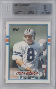 1989 Topps Traded - [Base] #70T - Troy Aikman [BGS9]