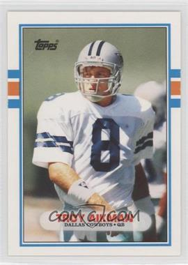 1989 Topps Traded #70T - Troy Aikman