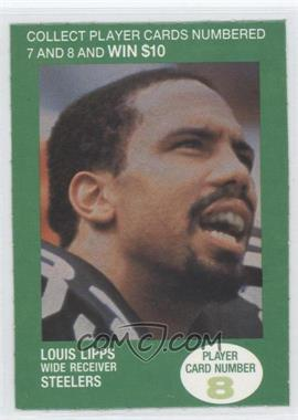 1990 BP NFL Players Match 2 Trading Card Game - [Base] #8 - Louis Lipps