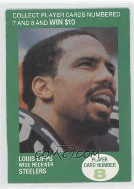 1990 BP NFL Players Match 2 Trading Card Game #8 - Louis Lipps
