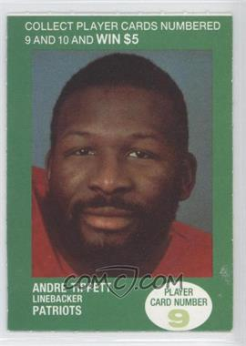 1990 BP NFL Players Match 2 Trading Card Game #9 - Andre Tippett