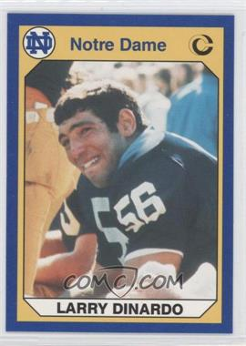 1990 Collegiate Collection University of Notre Dame - [Base] #14 - Larry Dinardo