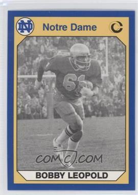 1990 Collegiate Collection University of Notre Dame #77 - Bob Lehmann