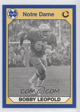 1990 Collegiate Collection University of Notre Dame #77 - Bobby Leopold
