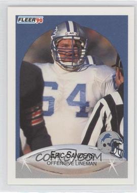 1990 Fleer - [Base] #285 - Eric Sanders