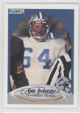 1990 Fleer #285 - Eric Sanders