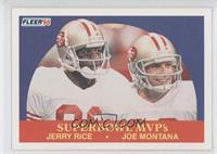 Jerry Rice, Joe Montana