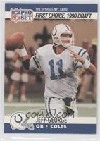 Draft - Jeff George (Yellow pant laces)