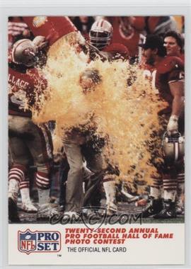 1990 Pro Set - [Base] #795 - Twenty-second Annual Pro Football HoF Photo Contest - 3rd Place, Color Feature