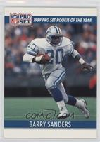 Barry Sanders (Blank Back)