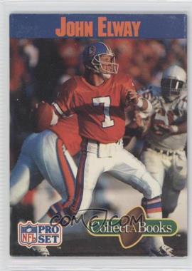 1990 Pro Set Collect-A-Books #N/A - John Elway