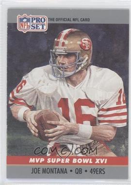 1990 Pro Set Super Bowl MVP's #16 - Joe Montana