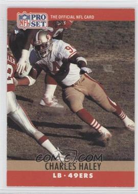 1990 Pro Set #289 - Charles Haley