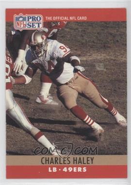 1990 Pro Set #289.1 - Charles Haley (Error: 4 fumble recoveries)
