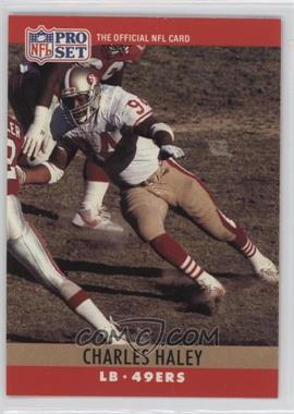 1990 Pro Set #289.1 - Charles Haley (Error: 4 fumble recoveries)