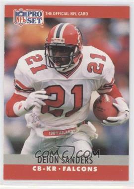 1990 Pro Set #36 - Deion Sanders