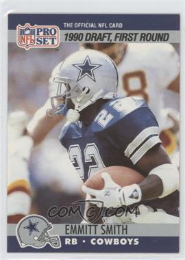 1990 Pro Set #685 - Draft - Emmitt Smith