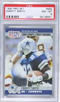 Draft - Emmitt Smith [PSA 8]