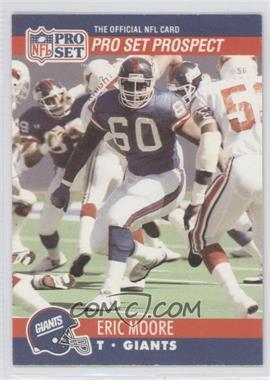 1990 Pro Set #744 - Eric Moore