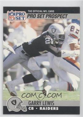 1990 Pro Set #752 - Pro Set Prospect - Garry Lewis