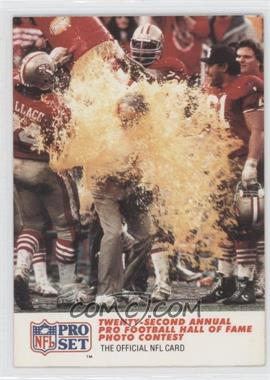1990 Pro Set #795 - Twenty-second Annual Pro Football HoF Photo Contest - 3rd Place, Color Feature
