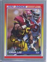 Junior Seau [JSA Certified Auto]