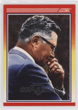 1990 Score - [Base] #603.2 - Vince Lombardi (copyright on back)