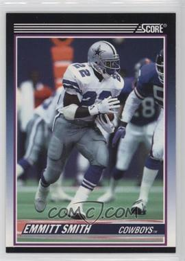 1990 Score - Rookie & Traded (Supplemental) #101T - Emmitt Smith