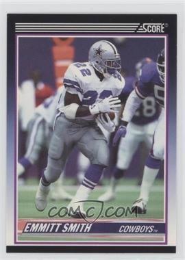 1990 Score Rookie & Traded (Supplemental) #101T - Emmitt Smith