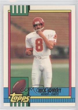 1990 Topps Collector's Edition (Tiffany) #255 - Nick Lowery