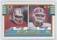 Jerry Rice, Andre Reed
