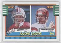 1989 Passing Leaders (Joe Montana, Boomer Esiason)
