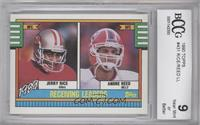 Jerry Rice, Andre Reed [ENCASED]