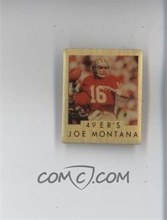 1991 ACE M.V.P. Pins #1 - Joe Montana