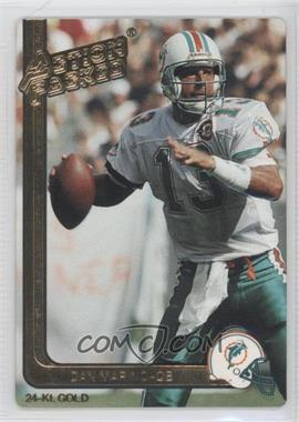 1991 Action Packed - [Base] - Gold #28G - Dan Marino