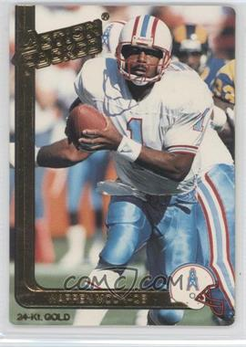 1991 Action Packed Gold #19G - Warren Moon