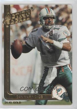 1991 Action Packed Gold #28G - Dan Marino
