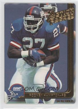 1991 Action Packed Gold #31G - Rodney Hampton