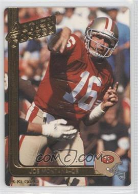 1991 Action Packed Gold #40G - Joe Montana