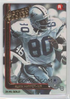 1991 Action Packed Rookies - [Base] - Gold #11G - Alvin Harper